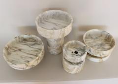 Angelo Mangiarotti Angelo Mangiarotti for Knoll Calacutta Marble Vase - 2138215