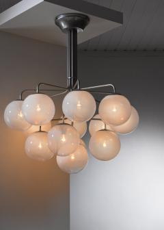 Angelo Mangiarotti Angelo Mangiarotti model A355 chandelier for Candle - 2123621