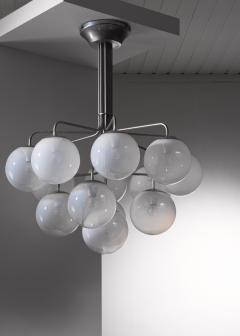Angelo Mangiarotti Angelo Mangiarotti model A355 chandelier for Candle - 2123622