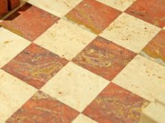 Angelo Mangiarotti Chess in travertino by Angelo Mangiarotti circa 1950 - 955703