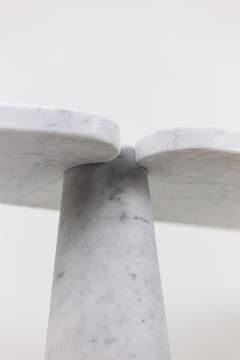 Angelo Mangiarotti Console Eros in Calacatta white marble 1970s - 2119966