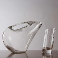 Angelo Mangiarotti Crystal Pitcher and Glasses by Angelo Mangiarotti - 770093