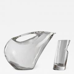 Angelo Mangiarotti Crystal Pitcher and Glasses by Angelo Mangiarotti - 772793
