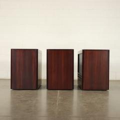 Angelo Mangiarotti Furniture Angelo Mangiarotti Veneered Wood Giussano Italy 1970s - 2118093