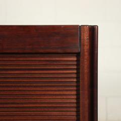 Angelo Mangiarotti Furniture Angelo Mangiarotti Veneered Wood Giussano Italy 1970s - 2118098