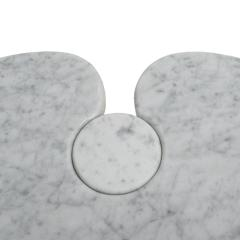 Angelo Mangiarotti Original Angelo Mangiarotti Italian Eros Carrara Marbel Side Tables - 2096867