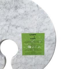 Angelo Mangiarotti Original Angelo Mangiarotti Italian Eros Carrara Marbel Side Tables - 2096884