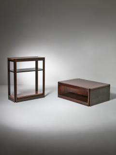 Angelo Mangiarotti Pair of 4D Units by Angelo Mangiarotti for Molteni - 2127746