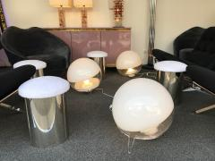 Angelo Mangiarotti Pair of Lamps by Angelo Mangiarotti for Skipper Italy 1980s - 610150