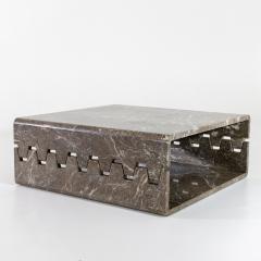 Angelo Mangiarotti Prototype Marble Coffee Table - 2062227