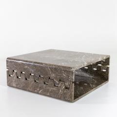 Angelo Mangiarotti Prototype Marble Coffee Table - 2062229