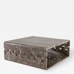 Angelo Mangiarotti Prototype Marble Coffee Table - 2064459