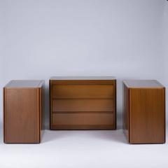 Angelo Mangiarotti Set of Three 4D Storage System by Mangiarotti for Molteni - 778731