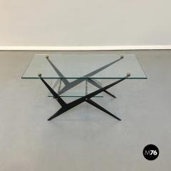 Angelo Ostuni Glass and iron coffee table by Angelo Ostuni 1950s - 1936036