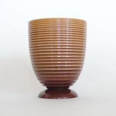 Angelo Simonetto Futurismo Ceramic Vase by Angelo Simonetto for Galvani Pordenone - 680966