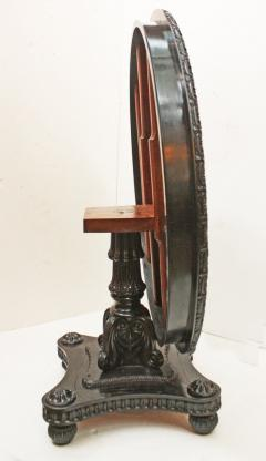 Anglo Indian Ceylonese Ebony and Specimen Wood Centre Table - 1924952