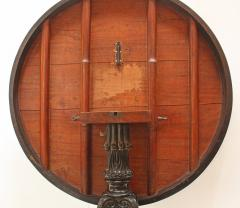 Anglo Indian Ceylonese Ebony and Specimen Wood Centre Table - 1924955