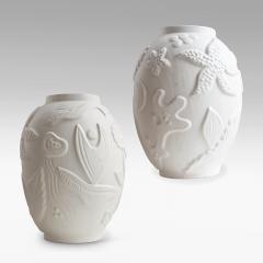 Anna Lisa Thomson Pair of Monumental Swedish Modern Vases by Anna Lisa Thomson - 1236265