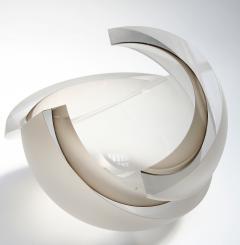 Anna Torfs Anna Torfs Armadillo Sphere Glass Sculpture or Vase in Smoke - 461568