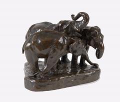 Anna Vaughn Hyatt Huntington Three Elephants - 1169297