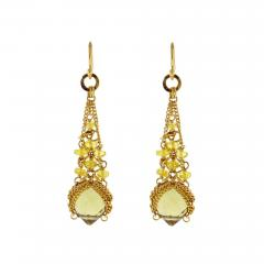 Anthony Nak Anthony Nak Citrine and Diamond Earrings - 462282