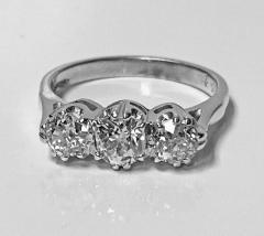 Antique 14 Karat Diamond Ring circa 1930 - 1881476