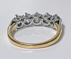 Antique 15 Karat Platinum Diamond Ring circa 1920 - 1925455