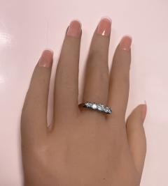 Antique 15 Karat Platinum Diamond Ring circa 1920 - 1925462