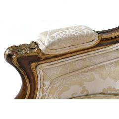 Antique 1880s Pair of Louis XV Style Carved Berg res italy - 173882