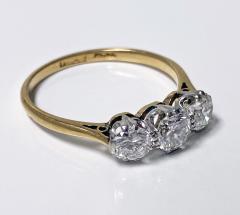 Antique 18K Platinum Diamond Ring C 1920  - 2150775