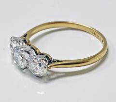 Antique 18K Platinum Diamond Ring C 1920  - 2150776