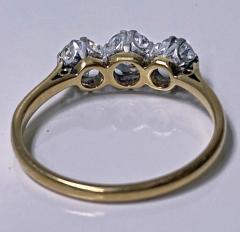 Antique 18K Platinum Diamond Ring C 1920  - 2150778