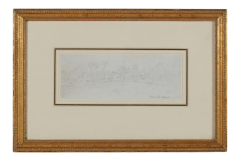 Antique 18th C Paul Sandby Master Drawing - 2142258