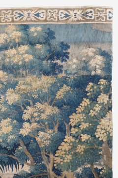 Antique 18th Century French Aubusson Landscape Tapestry with Palm Trees - 1831417