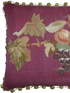 Antique 18th Century French Tapestry Pillow 23 x 14 - 1188520