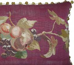 Antique 18th Century French Tapestry Pillow 23 x 14 - 1188521