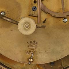 Antique 19th Century Bourbon Restauration Malachite and Gilt Bronze Mantel Clock - 1937762