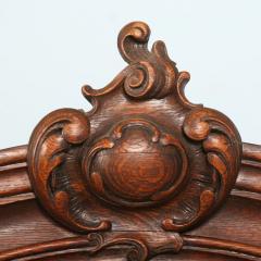 Antique 19th Century French Oak Vitrine Cabinet - 911778