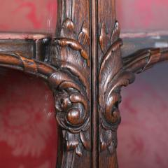 Antique 19th Century French Oak Vitrine Cabinet - 911782