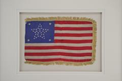Antique 37 Star American Flag Circa 1867 - 1844859