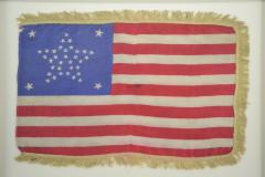 Antique 37 Star American Flag Circa 1867 - 1844860