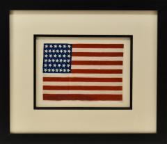 Antique 39 Star American Flag Circa 1889 - 1356914