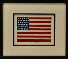 Antique 39 Star American Flag Circa 1889 - 1356915