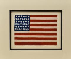 Antique 39 Star American Flag Circa 1889 - 1356916