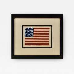 Antique 39 Star American Flag Circa 1889 - 1360459