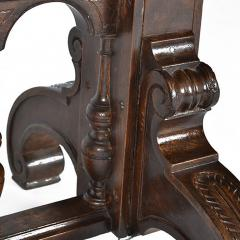 Antique Adjustable Height Mechanical Library Butler Service Table - 163571