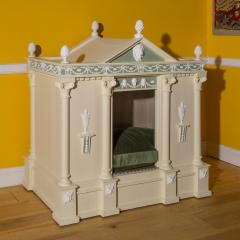 Antique Architectural Dog Bed or Dog House - 962228