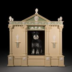 Antique Architectural Dog Bed or Dog House - 962229