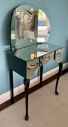 Antique Art Deco Mirrored Vanity Table - 2117363