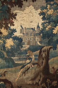 Antique Aubusson Verdure Landscape Tapestry - 1325931